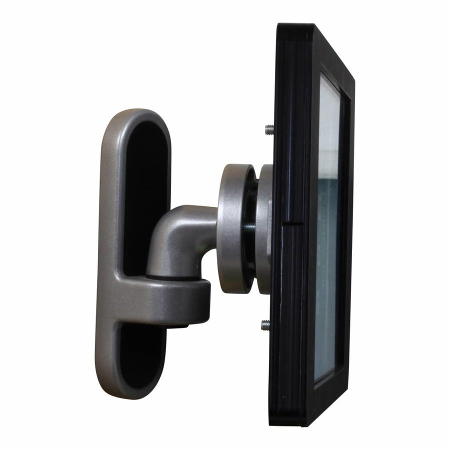"9-11"" Tablet wall mount Flessibile at 125 mm from the wall with Securo enclosure."