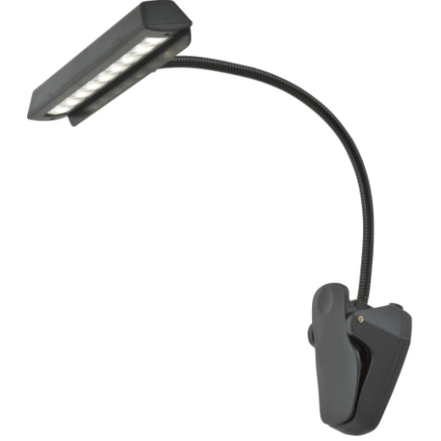 Led light for the reading journal. Clip-on system