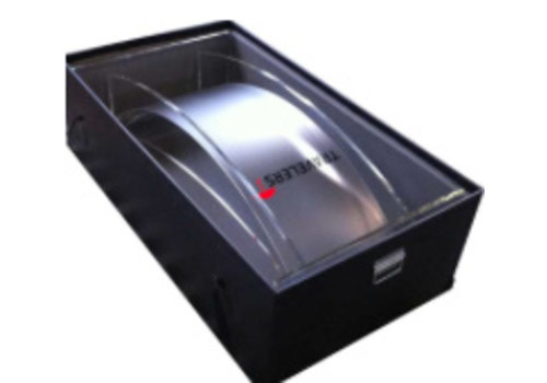 Bravour Plastic flight case for lecterns