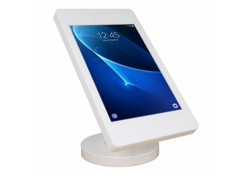 """Bravour Wall or desk stand for Samsung Galaxy Tab A 2016 10.1"""" white-stainless steel Fino"""