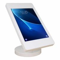 Tablet kiosk for Samsung TAB A/S2 9,7, desk or wall stand, Fino