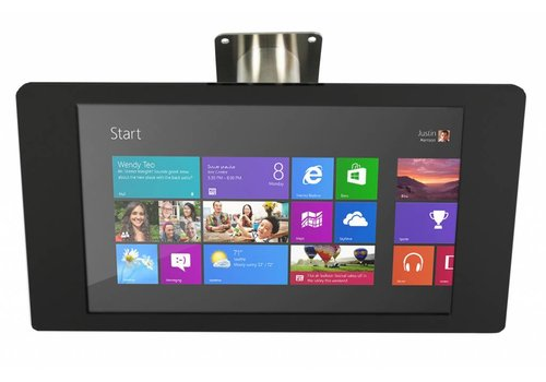 "Bravour Wall or desk mount for Microsoft Surface Pro 4 12.3"" black-stainless steel, Fino"