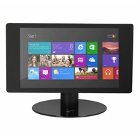 """Wall or desk mount for Microsoft Surface Pro 4 12.3"""" black-stainless steel, Fino"""