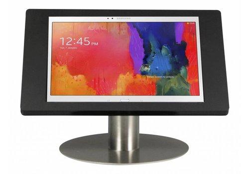 """Bravour Soporte tablet para Samsung Galaxy Note Pro 12,2"""" montaje escritorio Fino, blanco ó negro con tubo en acero"""