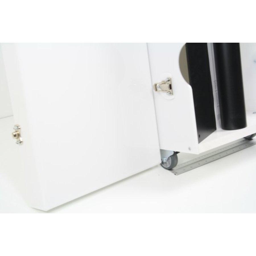 Flight case for floorstands