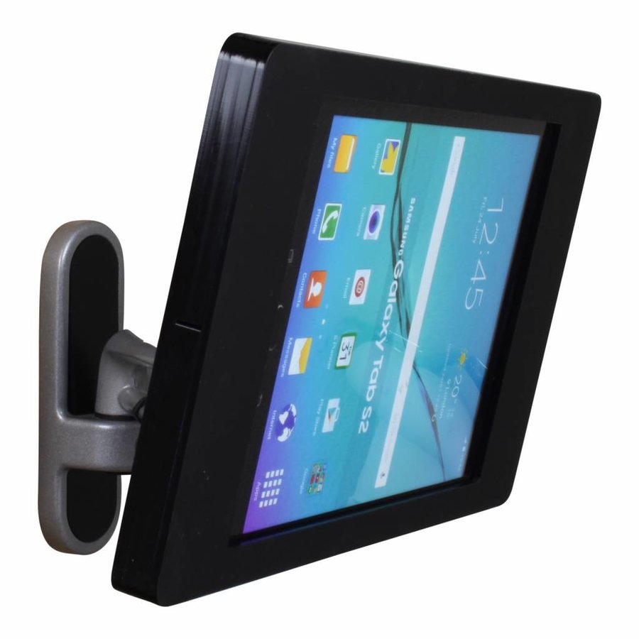 "Samsung Galaxy Tab A 2016 10,1"" Wall mount Flessibile (125 mm, 300mm, 450 mm)from the wall with Fino enclosure."