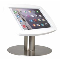 Desk stand for iPad Air, iPad Air2 & iPad Pro 9,7 white-stainless steel Lusso
