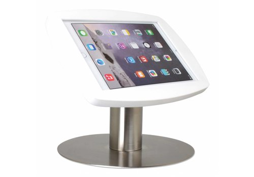 Bravour Desk stand for iPad Air, iPad Air2 & iPad Pro 9,7 white-stainless steel Lusso