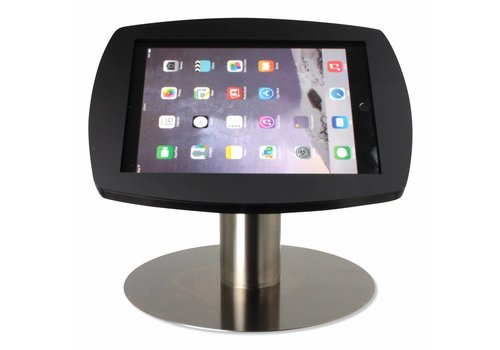 Bravour Desk stand for iPad Air, iPad Air2 & iPad Pro 9,7 black-stainless steel Lusso