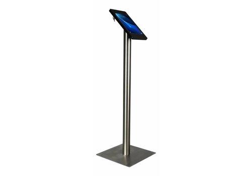 """Bravour Tablet vloerstandaard voor Samsung Tab A 2016 10.1"""" Fino zwart/RVS"""