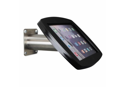 Bravour Soporte para iPad Air, iPad Air 2 y iPad Pro 9,7 negro/acero, montaje para pared/escritorio, Lusso