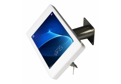 "Bravour Samsung Galaxy Note Pro 12,2"" montaje escritorio/pared Fino, blanco ó negro con tubo en acero"