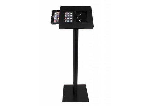 Bravour Waterproof tablet vloerstandaard voor tablets 9.7 en 10.1 inch tablets wit/zwart