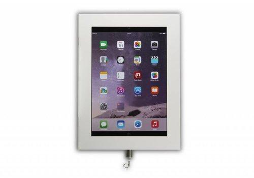 """Bravour Cassette voor tablet tussen 9-11"""" Securo, wit, zwart, grijs, RVS"""