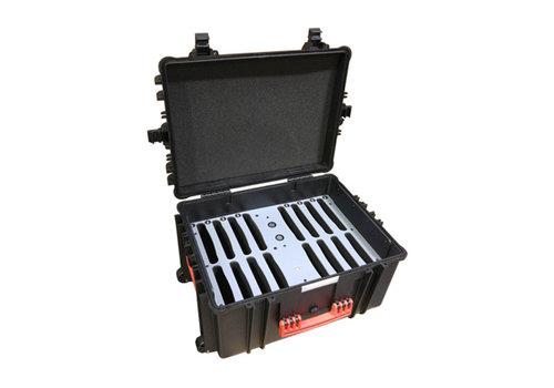 Parotec-IT iNsync C81 opberg, laad, synchronisatie en transport koffer voor maximaal 16 iPads of 10-11 inch tablets