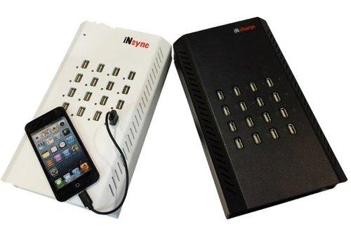 Parotec-IT Universal desktop iNsync DU16 for USB Chargeable Devices: 16 Ports