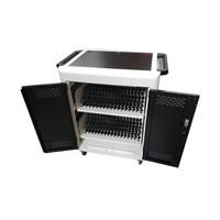 Unidad móvil de carga y sincronización con 32 estaciones para tablet, iPads, Netbooks, Notebooks y equipos portátiles