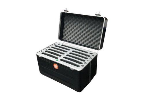 """Parotec-IT INsync C452 maleta de carga y sincronización para 10 dispositivos, iPads y tablets hasta 10,2"""""""
