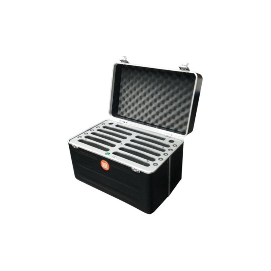 "Parotec-IT tablet transportcase with charging function for 10 iPad's and tablets up till 10.2""; inSync C452"
