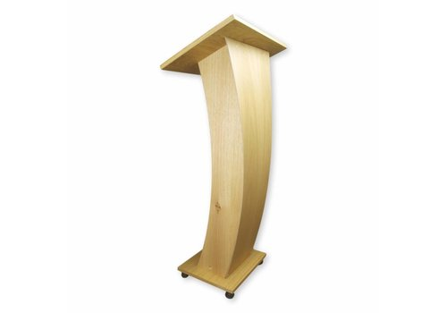 Bravour Castor - Lectern with curved frontpanel