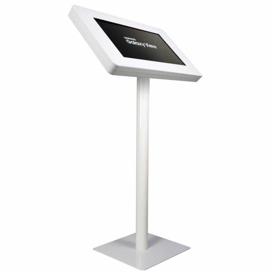"Pedestal para Samsung Galaxy view 18,4"", blanco, Fino"