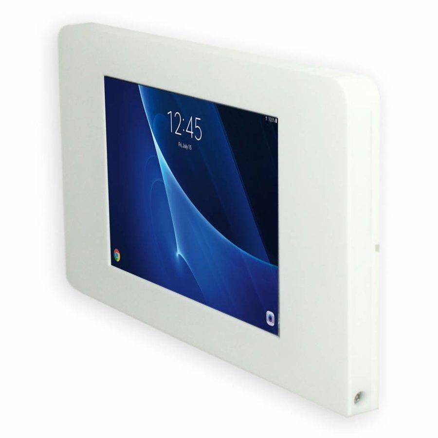 """Piatto, montaje de pared, muro para tablets: Samsung 7,0 Samsung Tab A 10,1"""", Samsung Tab S 9,7, Samsung Tab E 9,6, Samsung Pro 12,2, Samsung 8"""", blanco"""