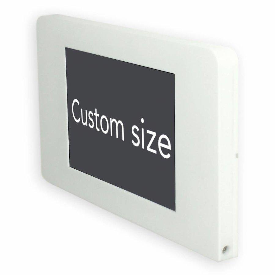 """Piatto, montaje de pared, muro para iPad 9.7"""", blanco"""