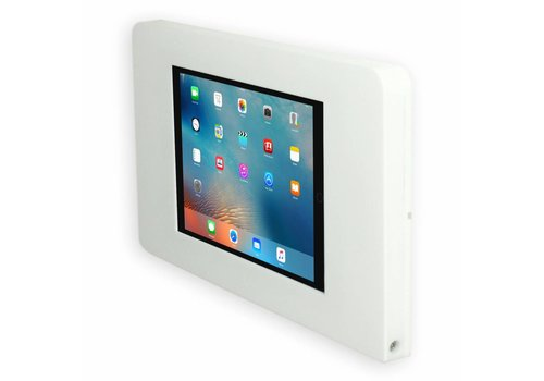 "Bravour Vlakke wandhouder voor iPad Mini, iPad 9.7"", iPad 10.5"", iPad Pro 12.9"", wit, Piatto"
