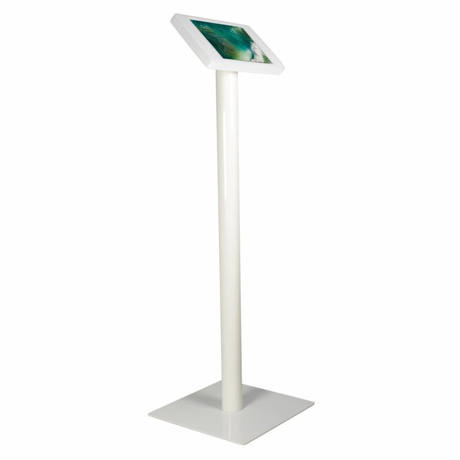 "iPad iPad 10.5"" Floor stand Fino - white met lock included"
