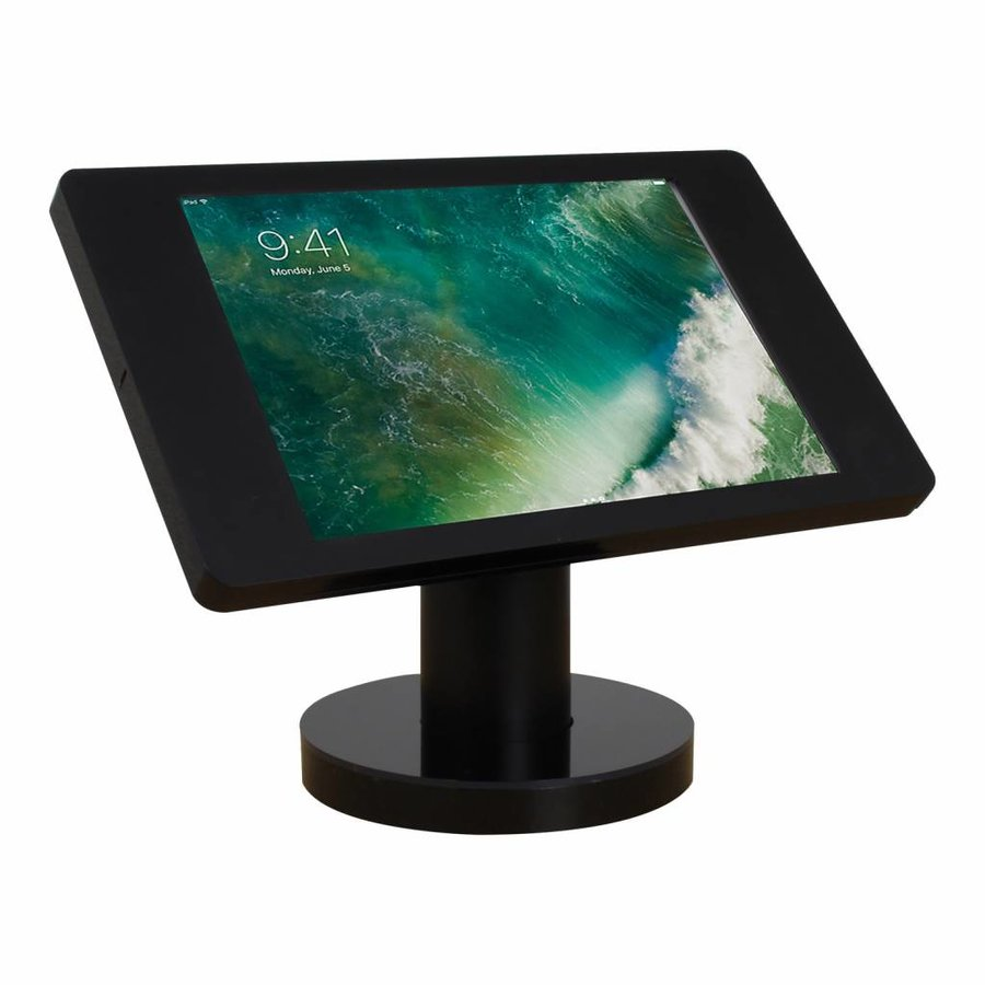 """Desk and wall stand for iPad 10.5"""" black,  lock included"""