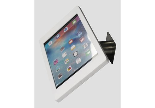 "Bravour iPad Pro 12.9"" wall or desk mount Fino white with stainless steel base"