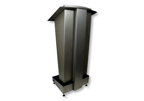 Bravour Skylight, Púlpito en acero inoxidable con iluminación LED