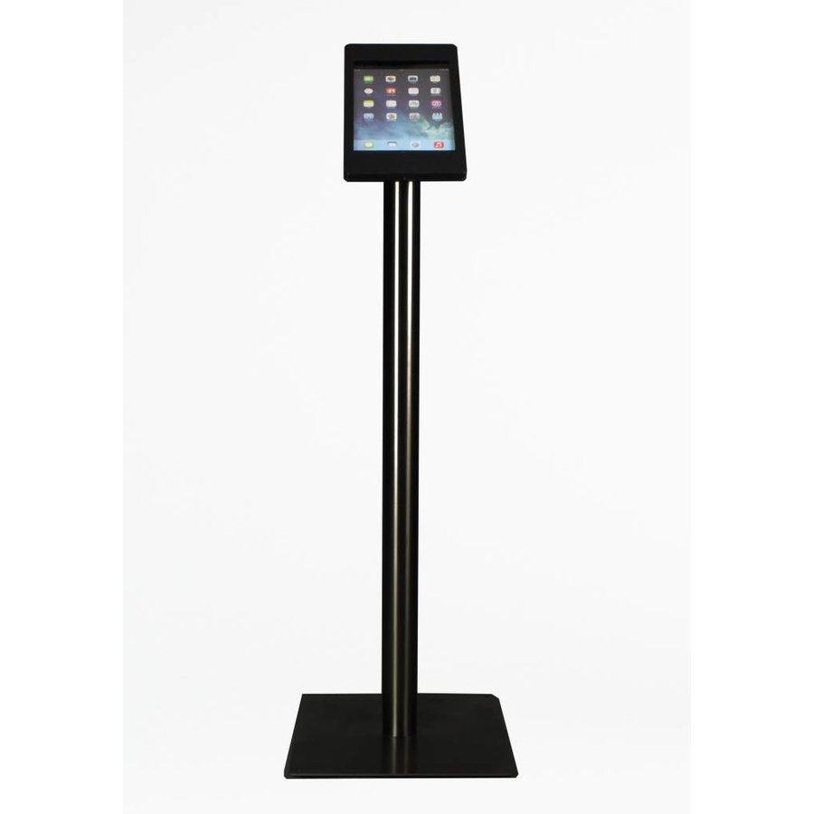 iPad Floor Stand + iPad mini, black, white