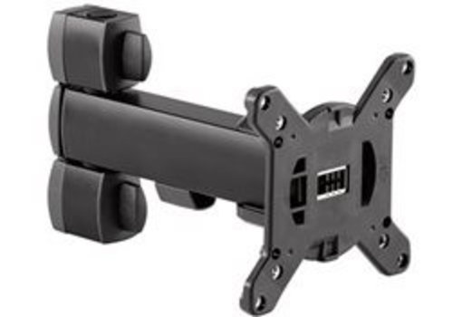 Stand mounting arm adapter for monitors, screens