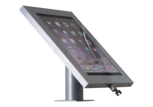 Bravour Tablethouder voor tablets tussen 12-13 inch, zilvergrijs, gemonteerd aan muur of op tafel