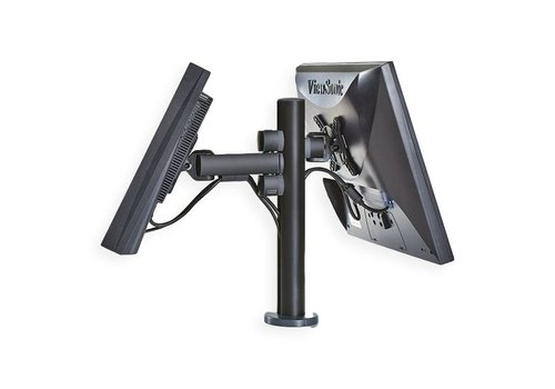 Point of sale RetailSystem, two-arm mounting for screens