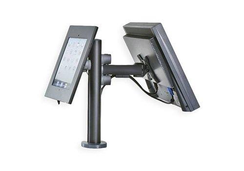 Terminal de pago para una pantalla con cassette para iPad (iPad 1/2/3/4 and iPad Air/Air 2)