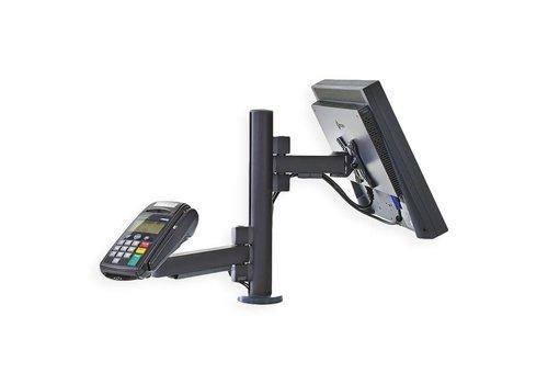 Estación de pago para una pantalla y un dispositivo de pago