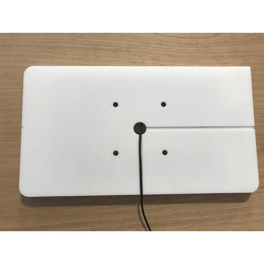 """Flat iPad wall stand for iPad Pro 10.5"""", Piatto, black"""