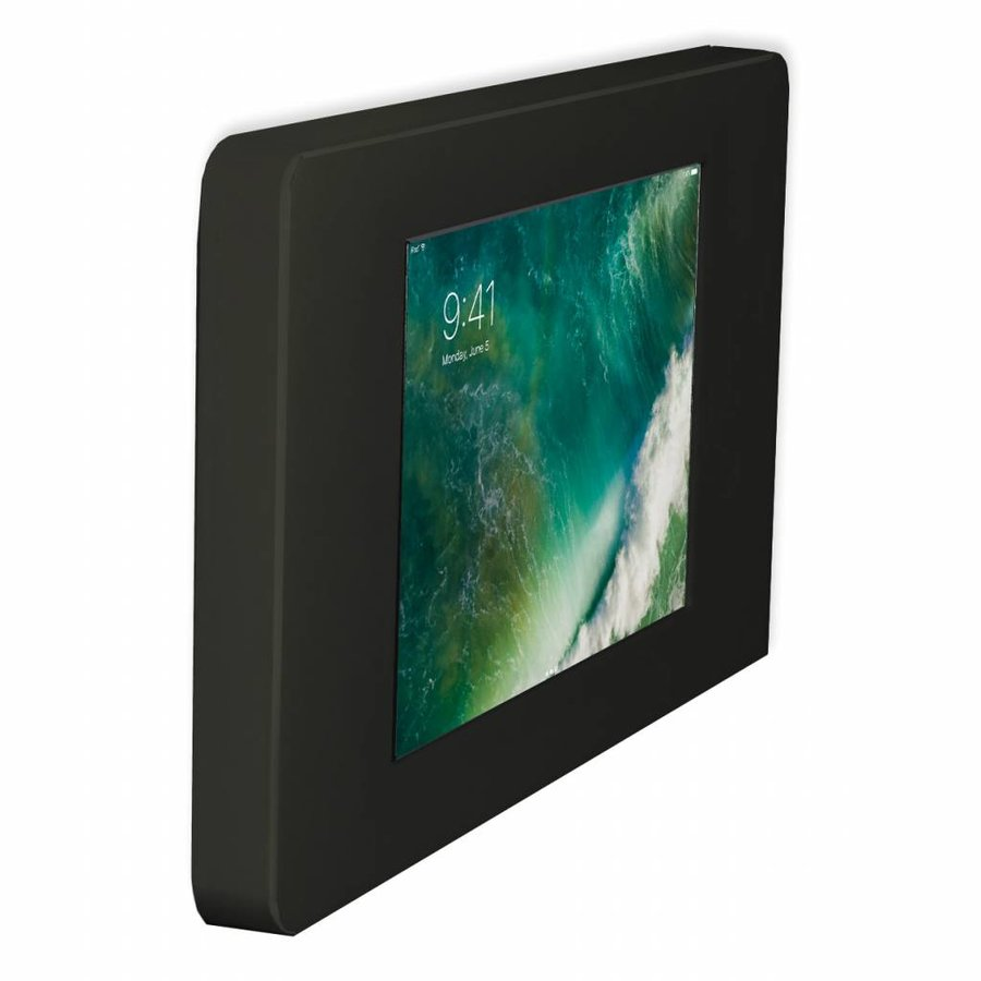 "Flat iPad wall stand for iPad Pro 10.5"", Piatto, black"