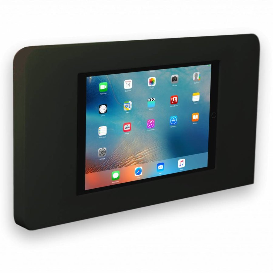 "Flat iPad wall stand for iPad Pro 12.9"", Piatto, black"