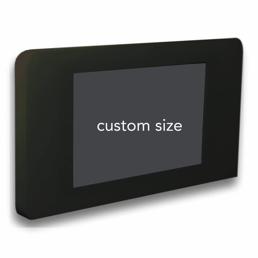 Flat iPad wall stand for iPad mini, Piatto, black