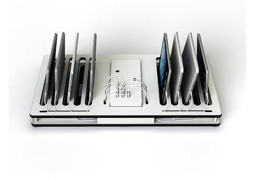 Zioxi Cargador multiple y sincronizador hasta 10 iPads o tablets, Zioxi