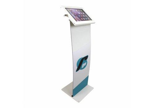 Bravour Soporte para tablet con display para tablets entre 12-13 Securo, blanco