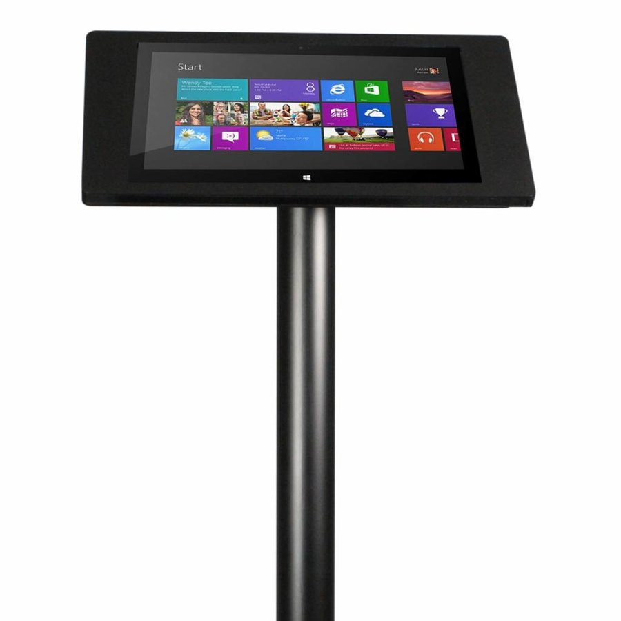 """Tablet floor stand Microsoft Surface 4 Pro 12,3"""" fino, black"""