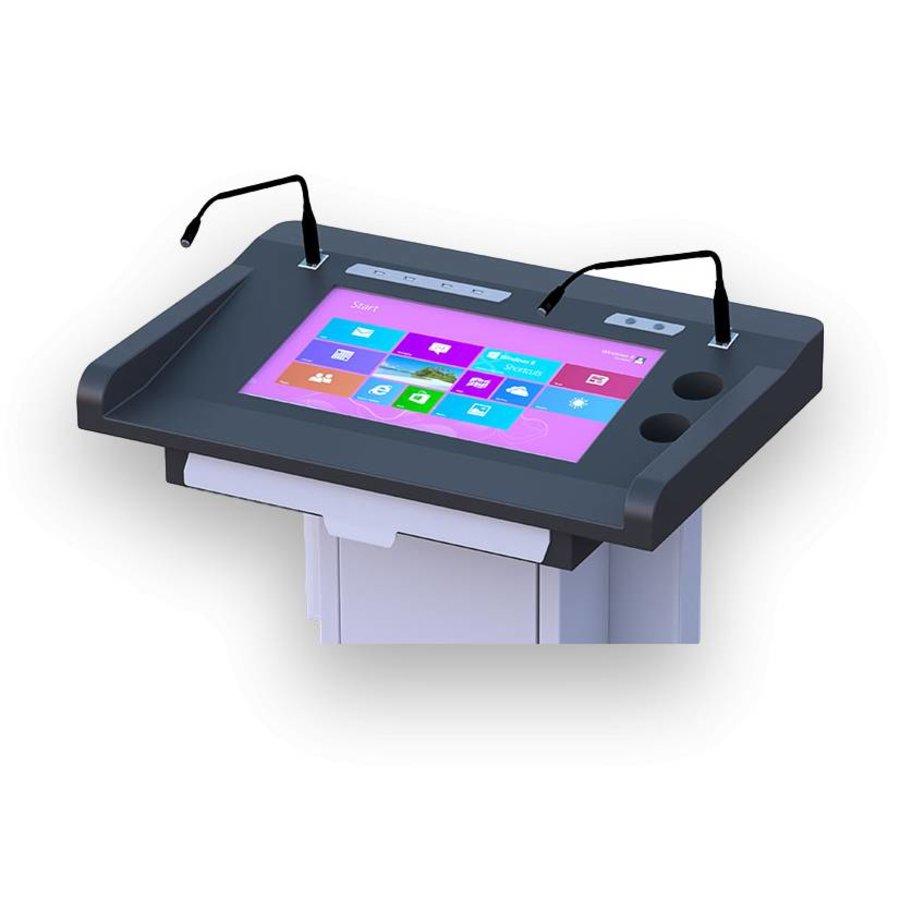 DL22A: atril, multimedia, podium, digital, audiovisuales integrados