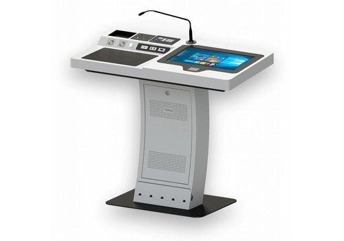 EP22A: atril digital, podium multimedia, pantalla táctil