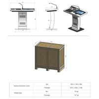 Pulpit, podium, digital, tribune, touch screen, Cambridge