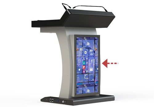 TK32H-B Digital Podium, remotely controllable