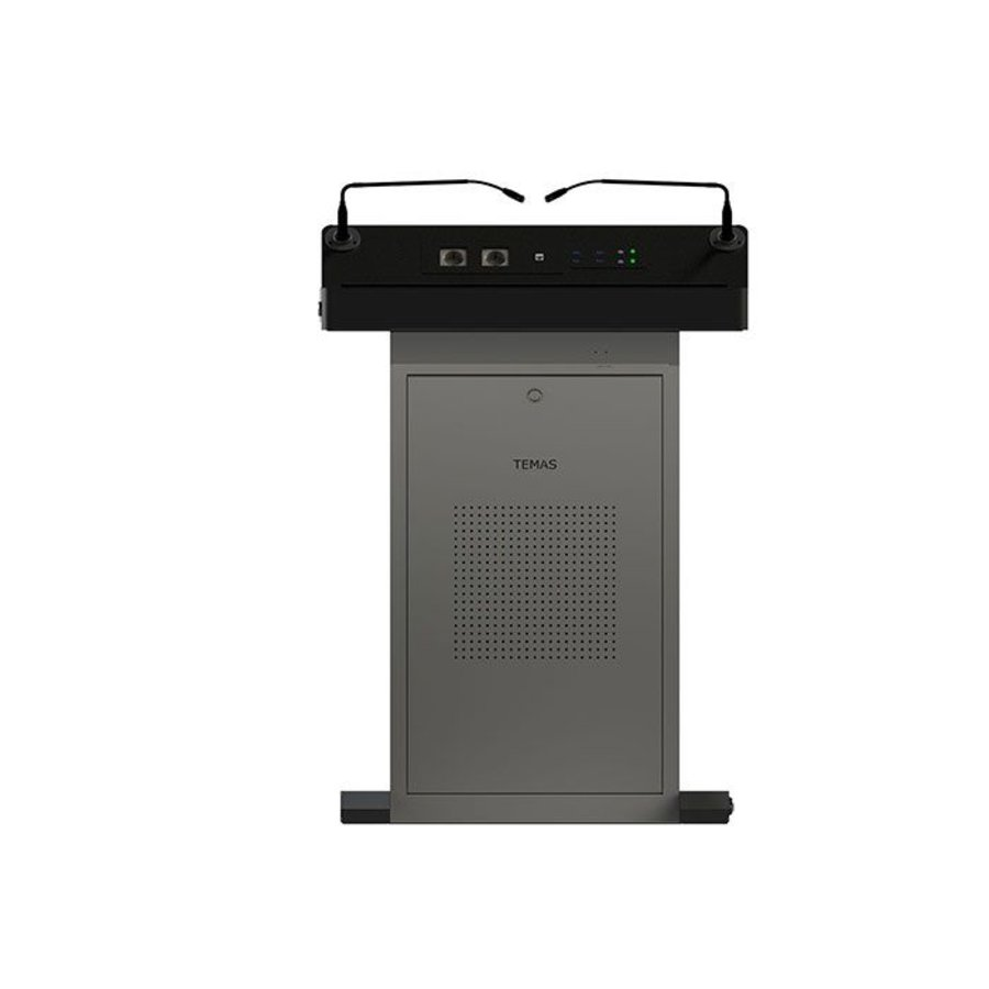 TK32H-B:  Podium digital, atril multimedia, atril inteligente